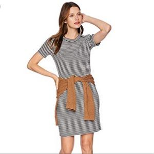J.Crew Mercantile Striped Fitted Knit Dress XS